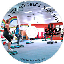 STEP AEROBICS CARDIO WORKOUT DVD FITNESS WEIGHT LOSS EXERCISE TONE LEARN