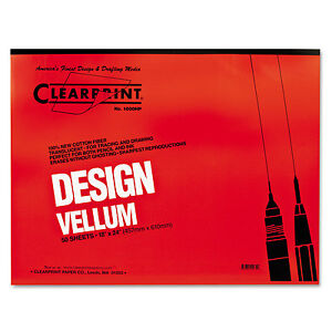 Clearprint-Design-Vellum-Paper-16lb-White-18-x-24-50-Sheets-Pad-10001422