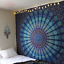 Indian-Tapestry-Wall-Hanging-Mandala-Hippie-Gypsy-Bedspread-Throw-Bohemian-Cover thumbnail 4