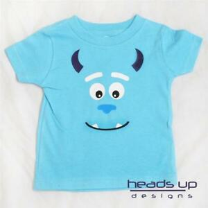 337f86f6 Sully Monsters Inc Shirt Newborn Infant Baby Toddler Kid Girl Adult ...