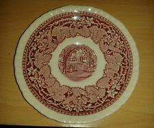 "VINTAGE ENGLISH MASON'S RED/PINK VISTA IRONSTONE CHINA 5 7/8"" SAUCER"
