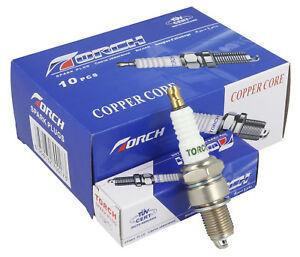 10-x-TORCH-COPPER-CORE-Spark-Plug-Replaces-NGK-BPR6ES