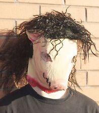 Saw Pig mask with hair Jig Saw full head Latex halloween tobin bell jigsaw Billy