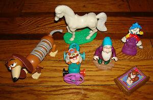 X6 Mcdonalds Happy Meal Toys Disney Aladdin Story Roger Rabbit