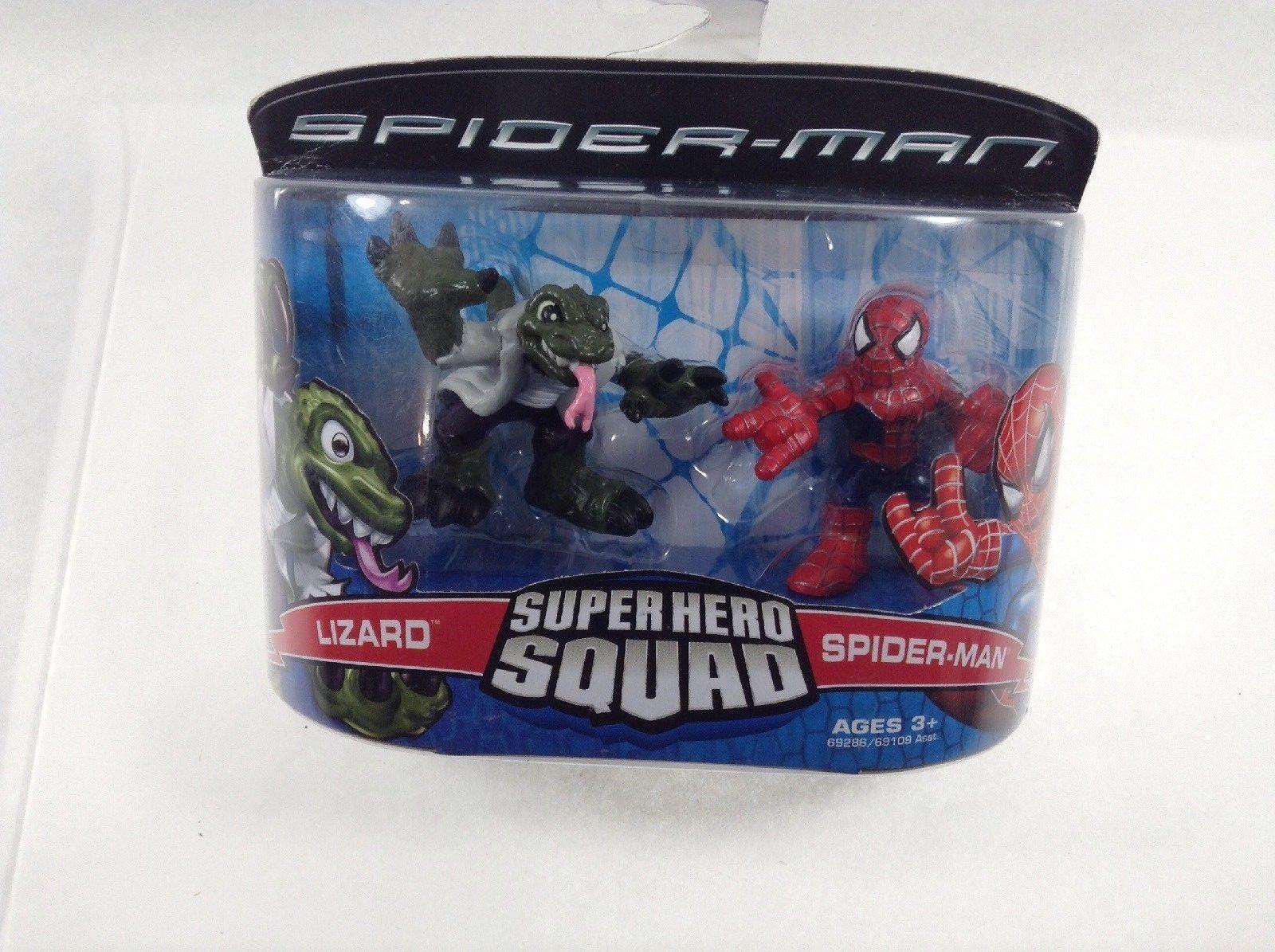 Spider-Man 3 súper Hero Squad Spider-Man vs. Lagarto. Hasbro. el Mejor Precio