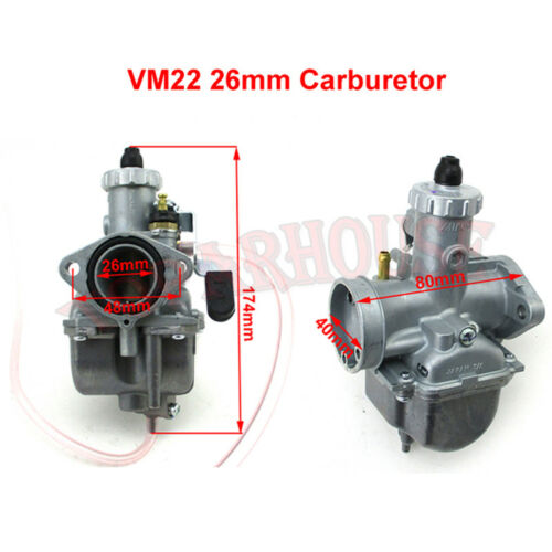 VM22-3847 Carburetor Kit For Predator 212cc GX200 196cc Clones Mini Bike Go Kart