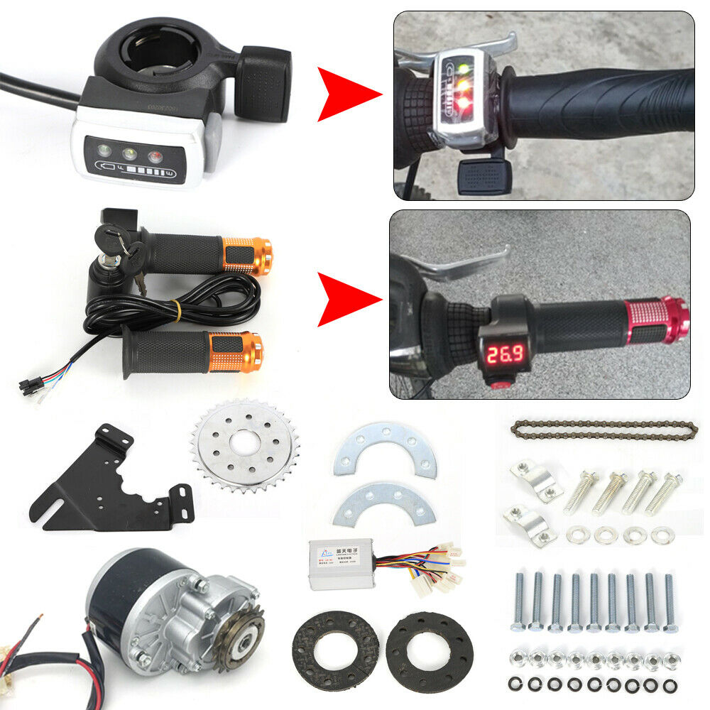 24V  250W Electric Bicycle Conversion Kit E-Bike Motor Controller Chain Kit USA  great selection & quick delivery