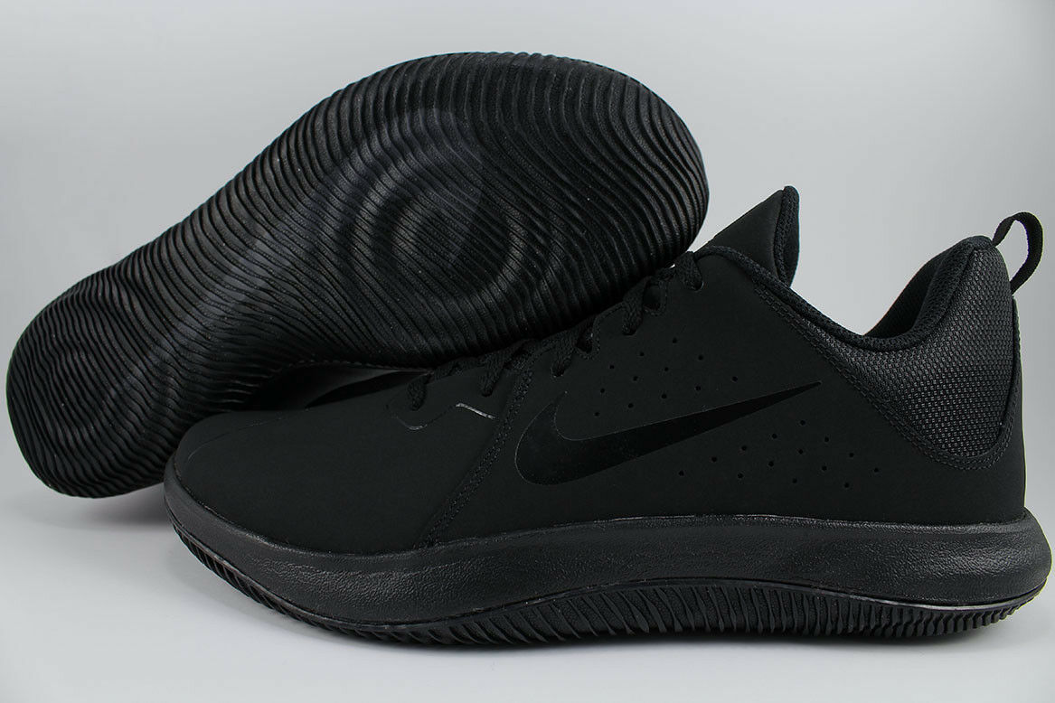 NIKE OVERPLAY FLY.BY LOW TRIPLE BLACK/ANTHRACITE BASKETBALL OVERPLAY NIKE VISI PRO MENS SIZE 97ae79