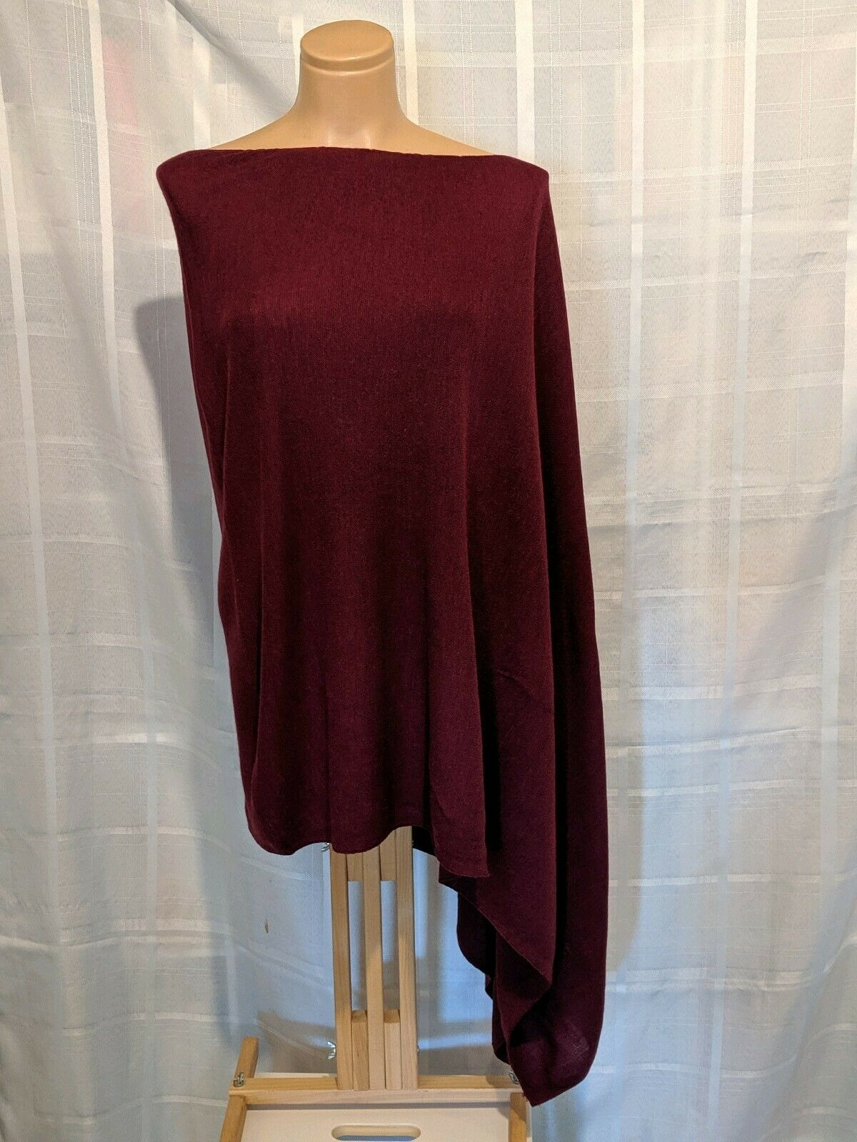 Eileen Fisher Pure Wool Poncho One Size
