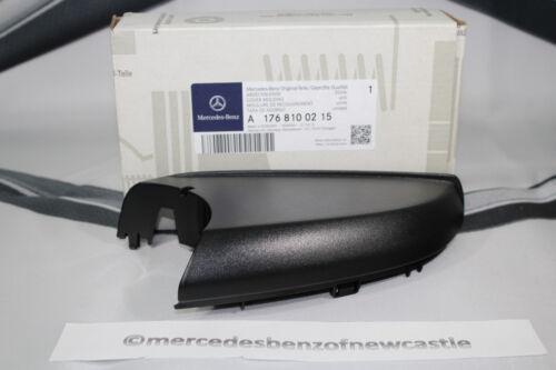 Genuino Mercedes-Benz w176 A-class Rh Espejo Retrovisor Negro Con Ribete a1768100215