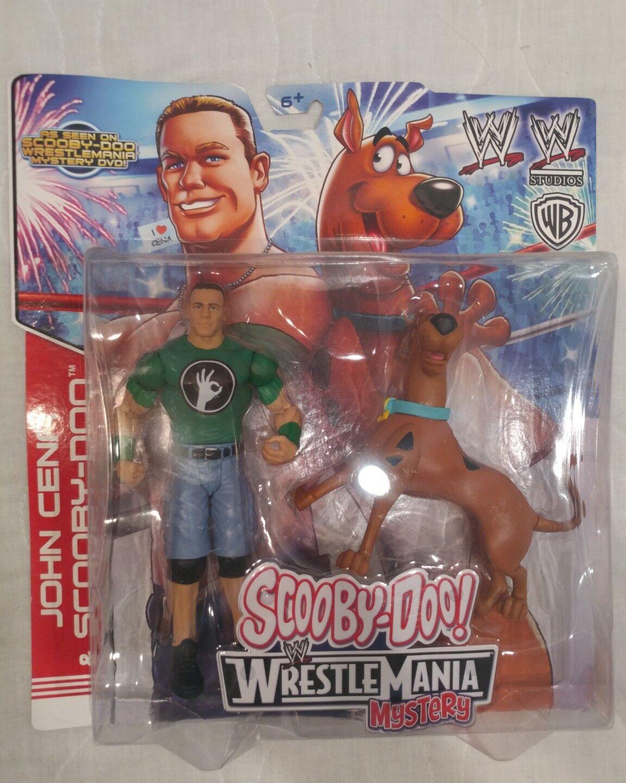 WWE WRESTLEMANIA JOHN CENA AND SCOOBY-DOO NEW