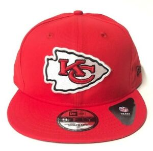 New Era Kansas City Chiefs Red 950 Snapback Hat NFL Basic Snap On ... 6fdd68a75