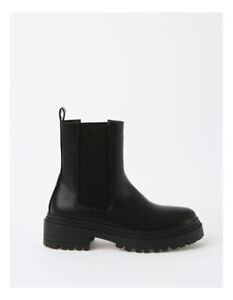 Miss Shop York Black Boot