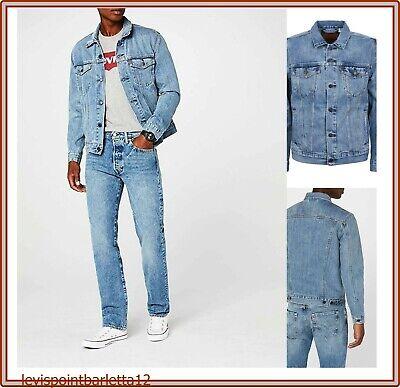giubbotto di jeans levis da uomo giacca levi's giubbino denim jacket in S M L XL | eBay
