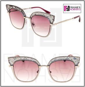 Carrera By Jimmy Choo Glitter Sunglasses in Gray - Lyst