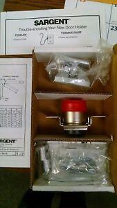 SARGENT 1561 120VAC EN Magnetic Door Holder,Steel,3<wbr/>5lb Strength G9634265