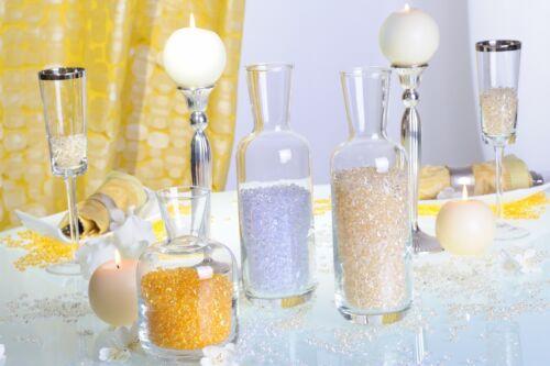 1200x Tautropfen Pearls Raindrops Tischdeko Streudeko Kommunion Taufe Hochzeit