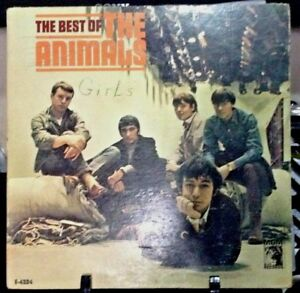 THE-ANIMALS-The-Best-of-the-Animals-Album-Released-1966-Vinyl-Record-Collection