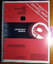 John Deere 6620 Sidehill 6620 7720 8820 Combine 551900 Owner Operator Manual 81