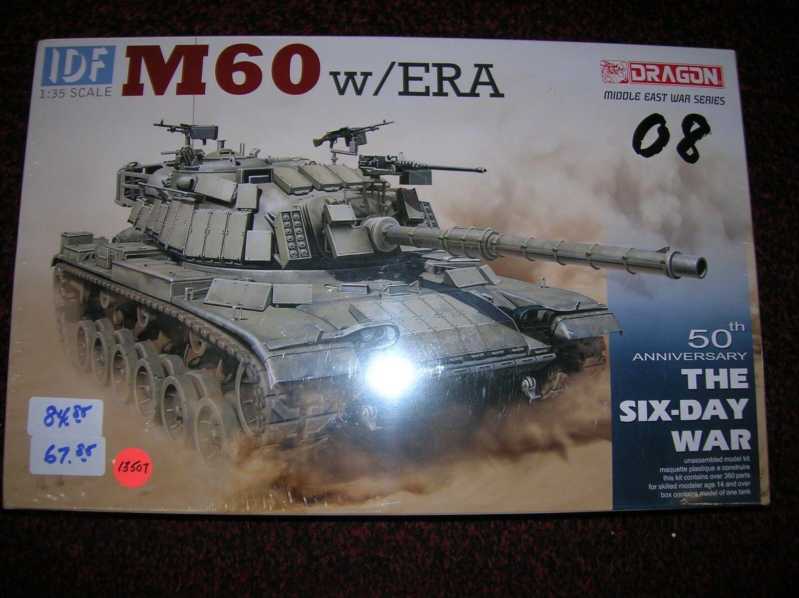 DRAGON   IDF M60 W  ERA   1 35 LIST   84.85 LOT