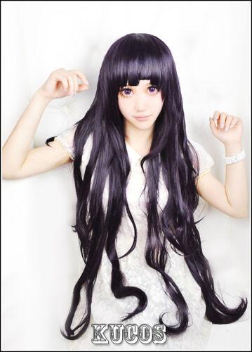 Super DanganRonpa 2 Despair Mikan Tsumiki Cosplay Costume School Uniform Wig