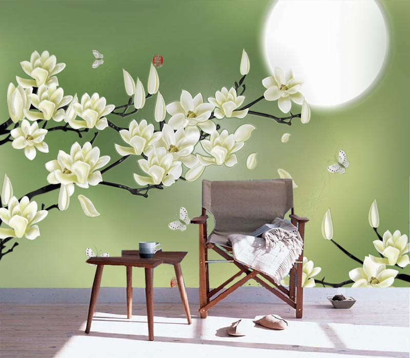 Sweet Fragrant Moon 3D Full Wall Mural Photo Wallpaper Printing Home Kids Decor