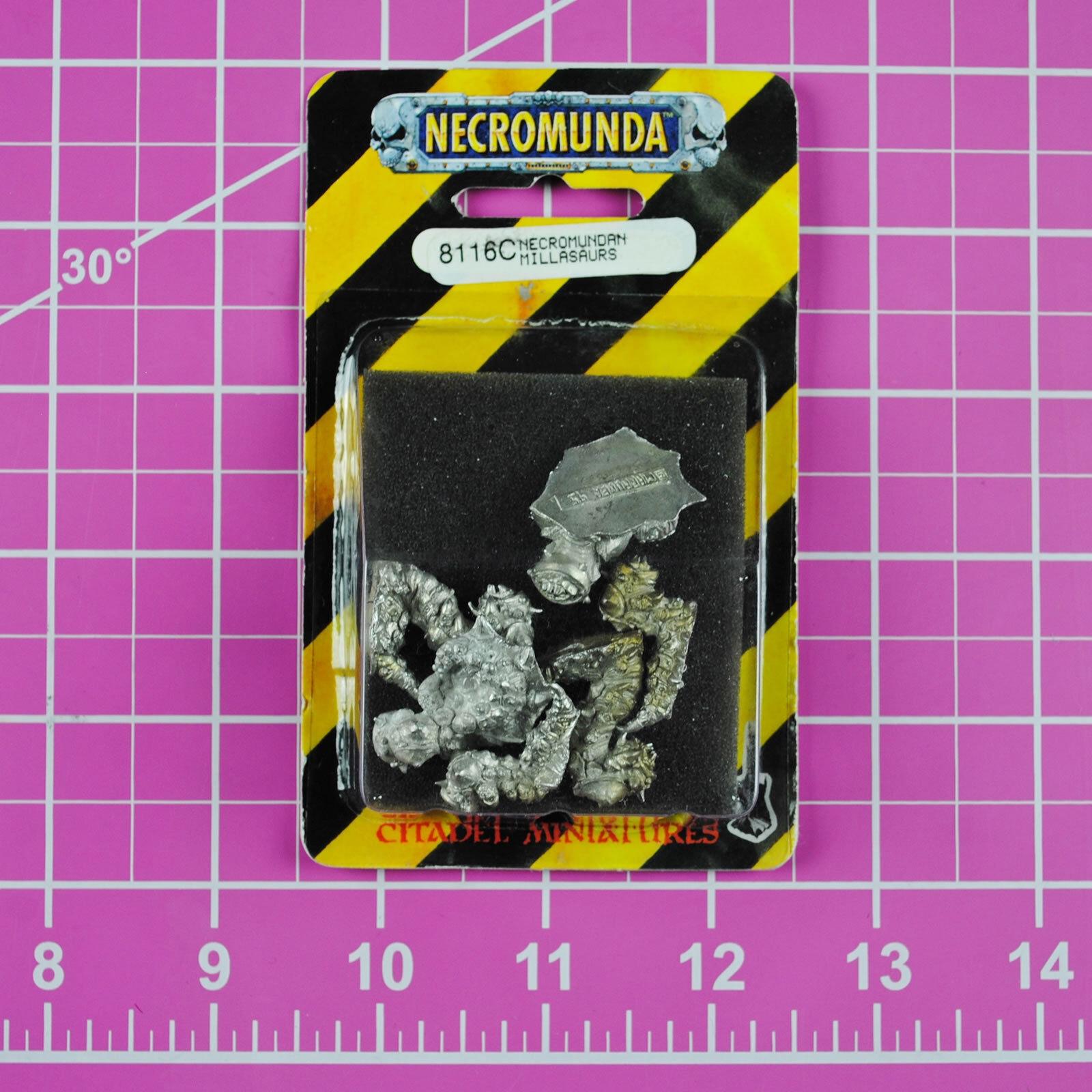 Necromunda Millasaurs NIB - Rare OOP Games Workshop Warhammer 40K (Beastmaster)