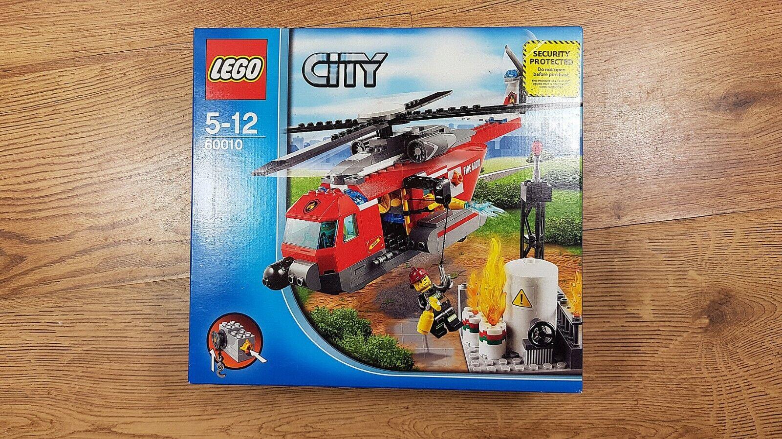 LEGO  città 60010 Elicottero FIRE DAL 2013   nuovi, non aperto, ottime condizioni   punti vendita