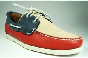 100%TIMBERLAND SCHUHE HERREN Leder Bootschuhe shoes Boat
