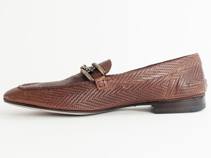 New  Cesare Cesare  Paciotti  Brown   Pelle Shoes   8 Retail   595 79c15f