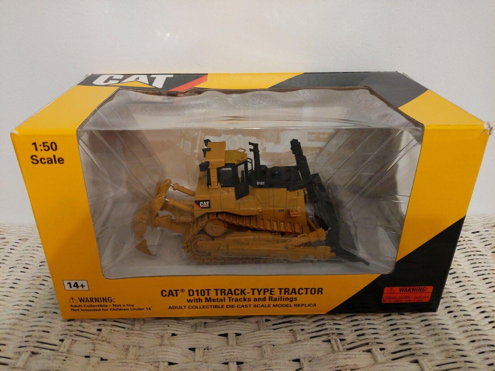Norscot Caterpillar CAT D10T Track-Type Tractor Diecast Cat 1 50