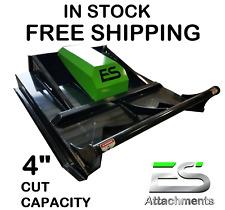 60 Es Brush Cutter Mower New Skid Steer Free Shipping Ctl Mtl Loader
