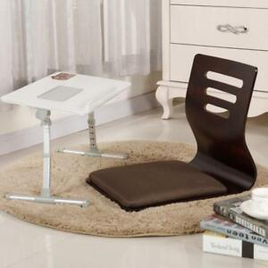 Details about Japanese Chair Design Home Living Room Furniture Kotatsu  Table Chair Tatami 2pcs