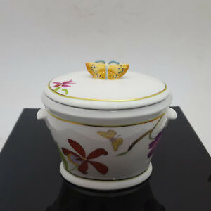 Lynn-Chase-Designs-Fantasia-Candy-Box-With-Lid-Chipped