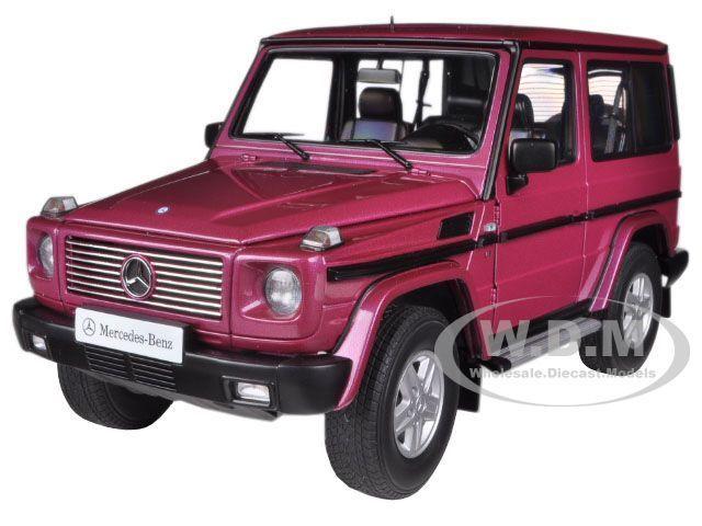 1998 Mercedes G500 G Clase Swb rosso 1 18 Diecast Car Model por Autoart 76113