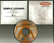 CANDLEBOX Simple Lessons 1995 USA Ultra Rare PROMO Radio DJ CD Single PROCD 7786