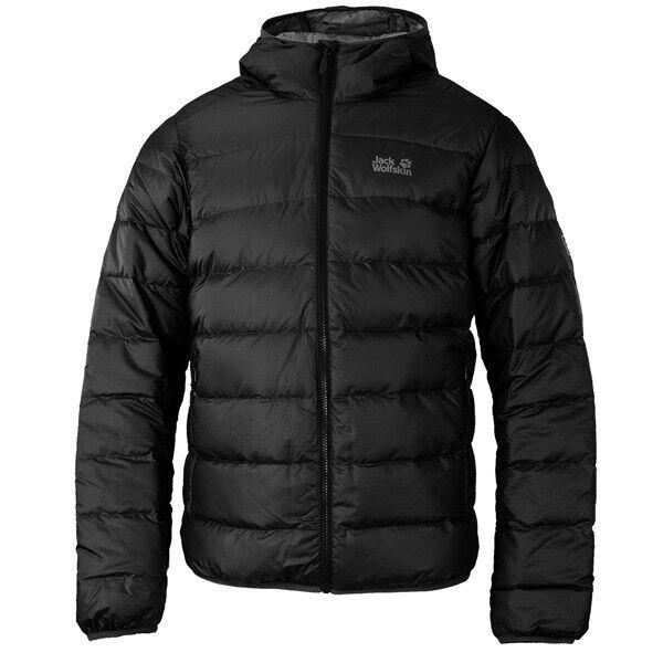 Jack Wolfskin Helium Men Jacket Herren Outdoor Daunen Jacke schwarz 1200573-6000