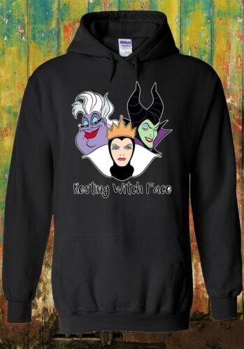 Superficie di riposo Witch Disney Regina Cool Uomini Donne Unisex Felpa Felpa con cappuccio 2146