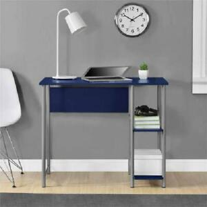 Remarkable Details About Minimal Modern Metal Desk With 2 Side Shelves Home Office Or Bedroom 8 Colors Home Remodeling Inspirations Basidirectenergyitoicom