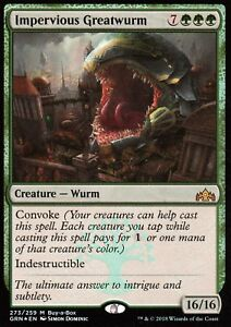Impervious-greatwurm-FOIL-Presque-comme-neuf-Buy-a-Box-Promo-magic-mtg