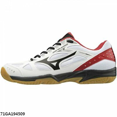 Mizuno Sky Blaster Red White Badminton Men Women Shoes 71GA194562
