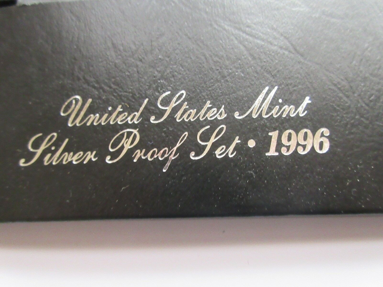 1996 , United States Mint , Silver Proof Set