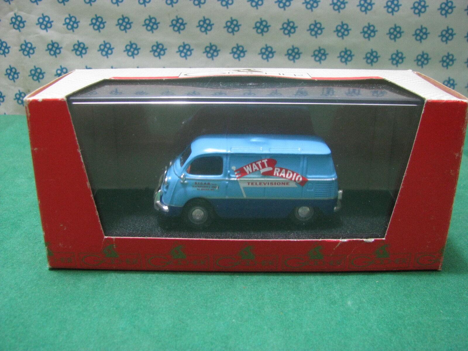 Vintage  - - -   FIAT Coriasco   Radio Watt      -  1 43  Giocher 4e44e0