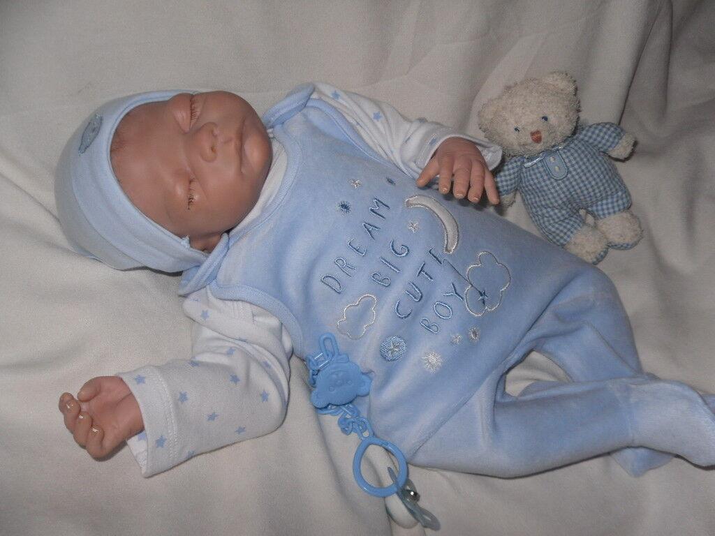 Traumdolls rebornbaby korey de Helen Conners limitado artistas muñeca muñeca bebé