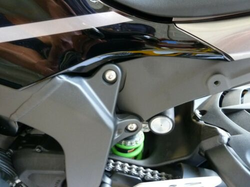 KRT 2016-2019 Titanium Rear SUB FRAME Mount Bolt kit Ti TR78 Kawasaki ZX10R
