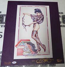 Olivia de Berardinis Signed Memories 16x20 Fine Art Print PSA/DNA Playboy Litho
