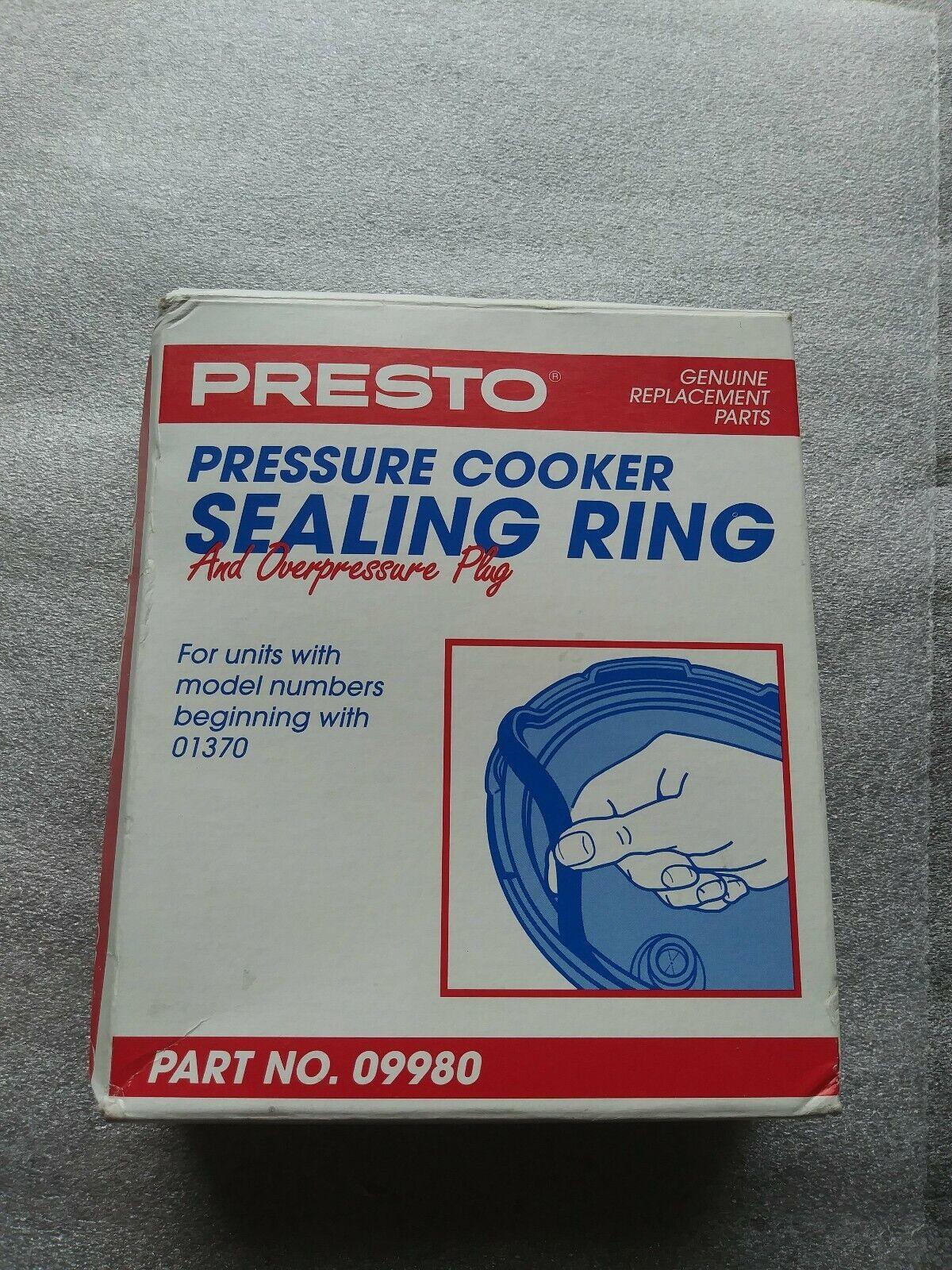 01370 09980 2 Pk Presto Pressure Cooker Sealing Ring For Models