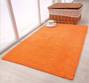 Bath-Mat-100-Cotton-Bathroom-Floor-Rugs-Oversized-Thick-Absorbent-Charcoal