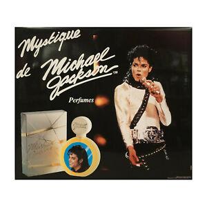 MICHAEL-JACKSON-PERFUMES-MYSTIQUE-PARFUM-PLV-1989-RARE-OBJET-PUBLICITAIRE-NO-LP