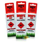 3x Bens Insect Repellent MAXIMUM DEET Bite Protection Safari Strength Spray 37ml